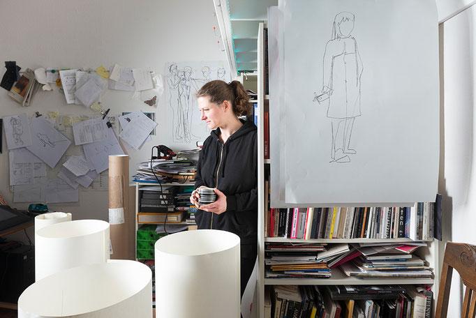 Porträt Petra Lottje, Neuköllner Kunstpreis 2019, Foto: Ines Borchart