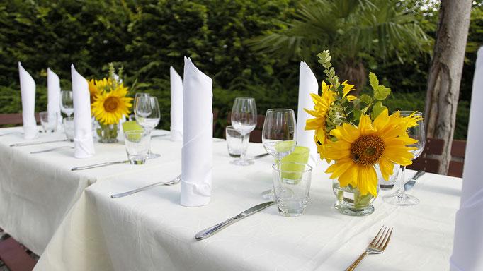 Die Kelter in Notzingen - mediterran und regional genießen - stilvoll feiern