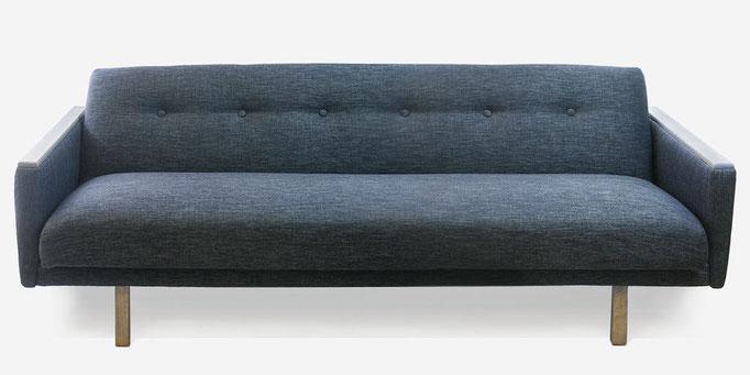 Sofa dunkelblau