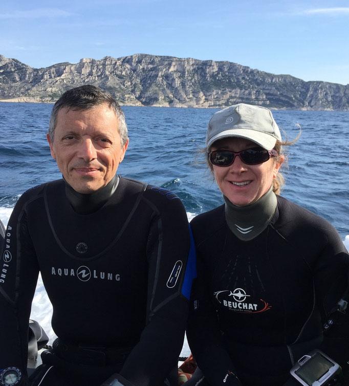 Pascal Schaufler et Sandrine Betton