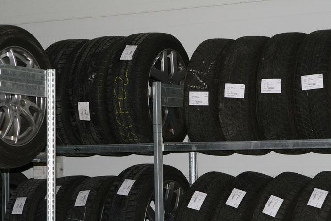 Reifenservice: Reifeneinlagerung in der Kfz-Werkstatt in Rutesheim bei Leonberg