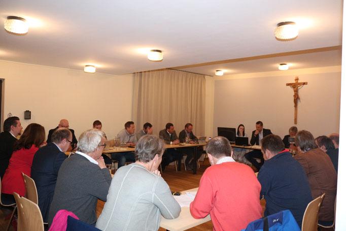 Gemeindevertreter Sitzung Puch