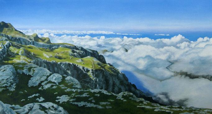 <b>Puig Galileu</b><br>Öl/Leinwand | 2011 | 70 x 130 cm