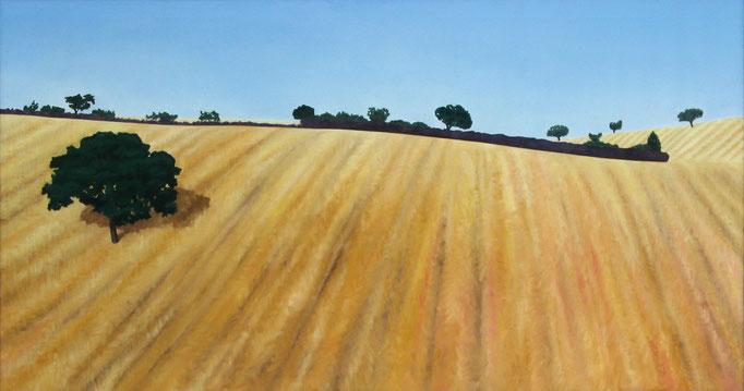 <b>L'Albero</b><br>Öl/Leinwand | 1994 | 80 x 150 cm