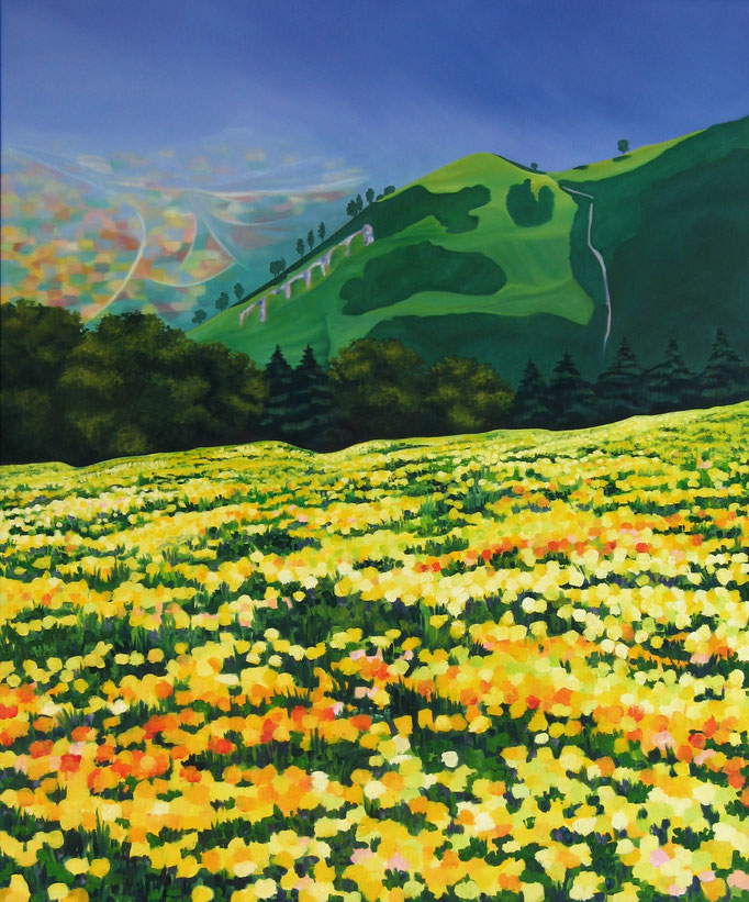 <b>Érice I</b><br>Öl/Leinwand | 1993 | 180 x 150 cm