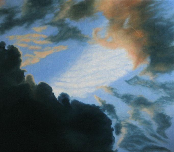 <b>Wolken 2</b><br>Öl/Leinwand | 2009 | 70 x 80 cm