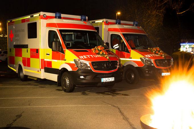 Die neuen Lindauer Rettungswagen: RTW 71/1 und RTW 71/2
