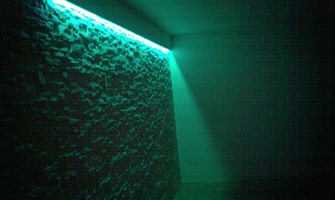 LED beleuchtet die Steine
