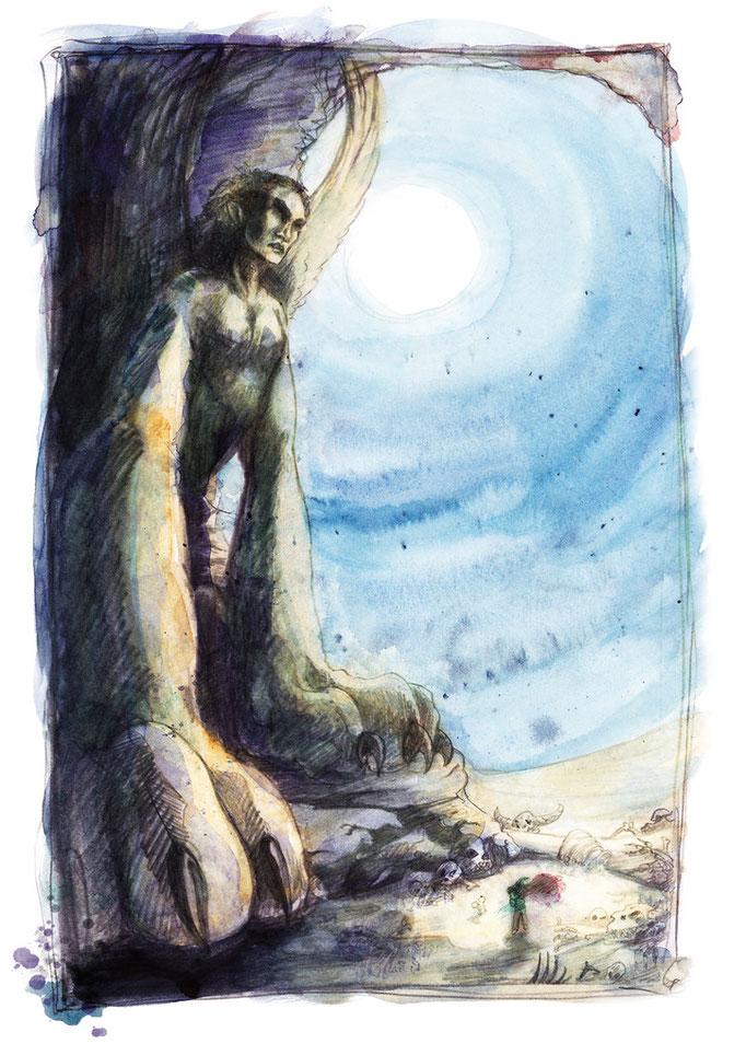 Unter dem Blick der Sphinx
