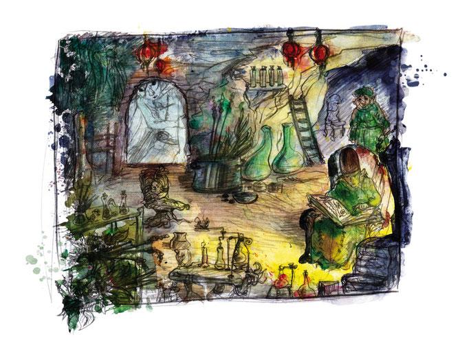 Die Höhle der Zweisiedler