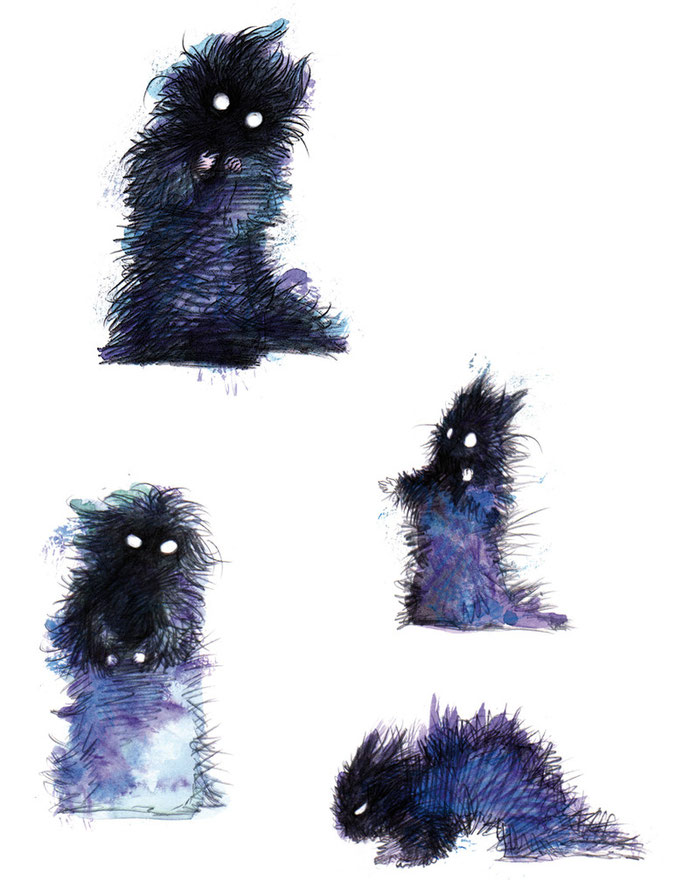 Wúschwúsul, der kleine Nachtalb