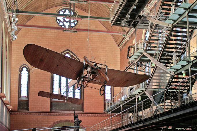 """Veteranen der Fluggeschichte im """"Musée des Arts et Métiers"""""""