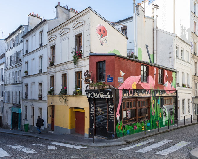 unterwegs in Montmartre