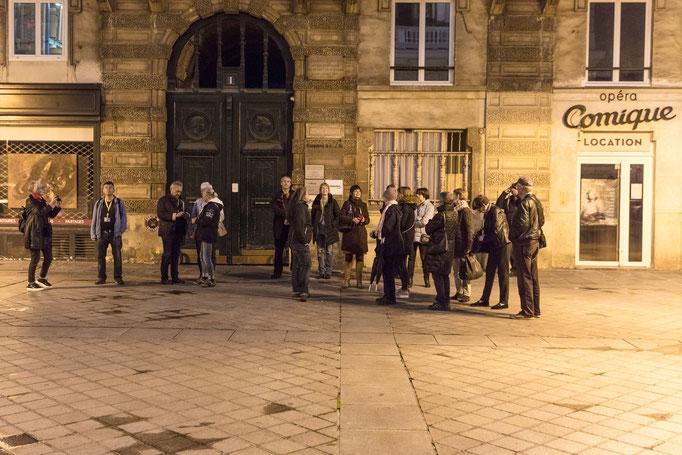 Abendspaziergang, Komische Oper (Rue  Favart)