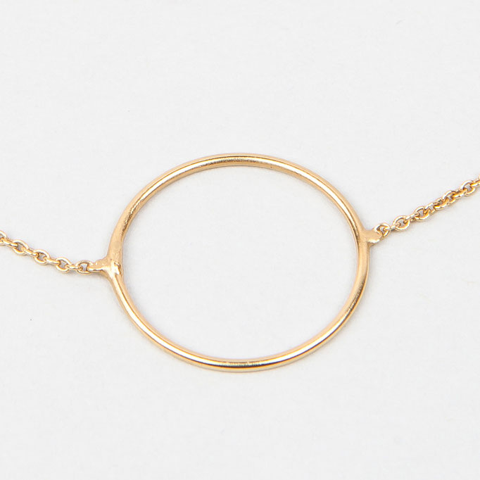 tiphine. Armband Mia (vergoldet)