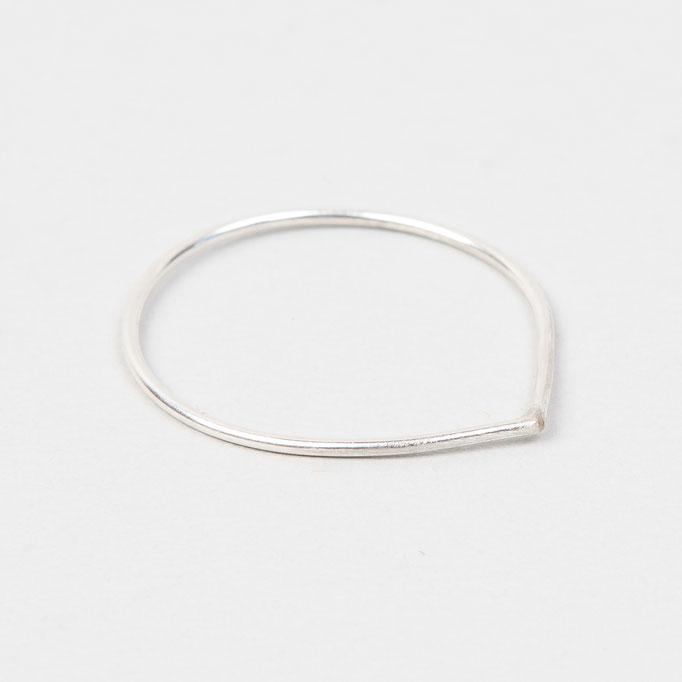 tiphine. Ring Caro (0,8 Draht, silber)
