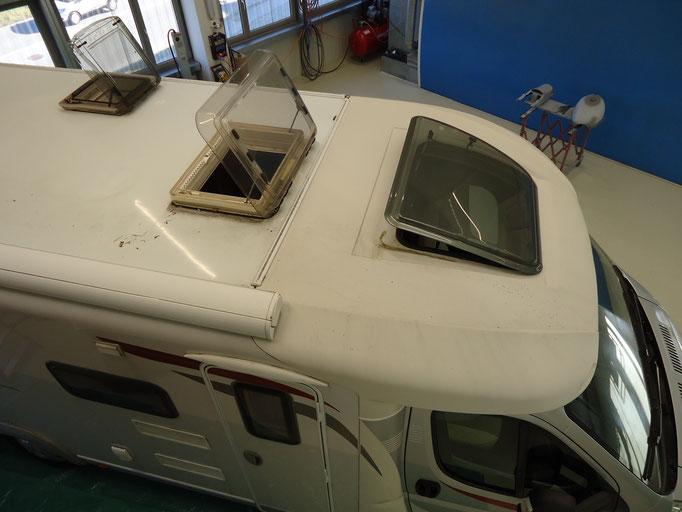 Reparaturen-Camper-automalerei