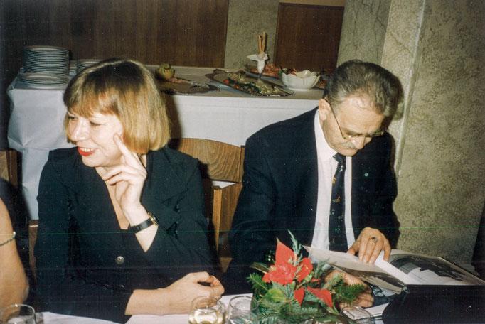 Rosa und HC Artmann Klagenfurt 1994