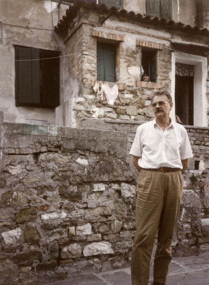 HC Artmann in Ipplis 1990