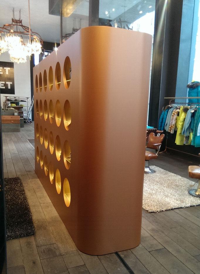 Formteile in Sperrholz mit MDF Deck