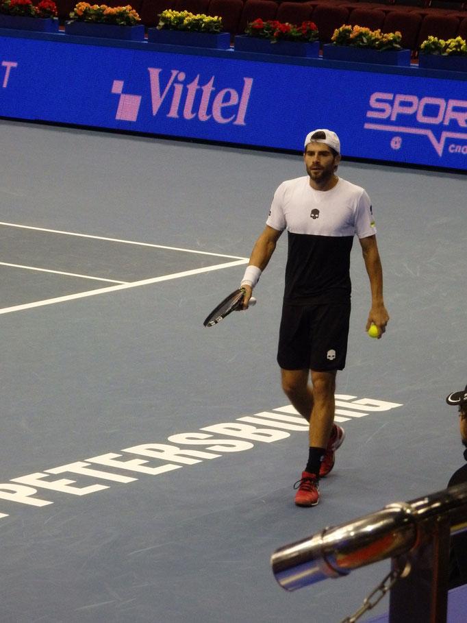 Симоне Болелли на турнире показывает прекрасный теннис