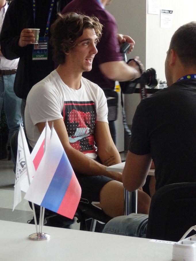 Танаси Коккинакис на интервью