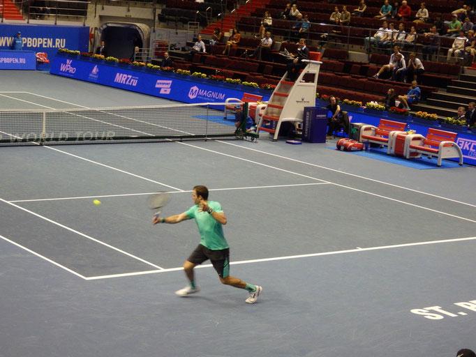 Теймураз Габашвили - красивый, зрелищный теннис и шаг до четвертьфинала