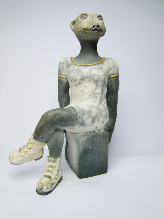 statue suricate de simplement terre