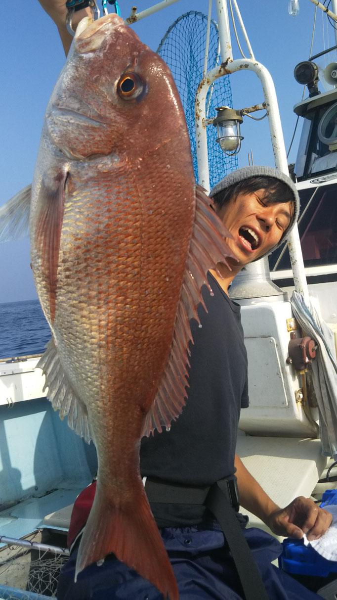 6月23日平山さん真鯛です