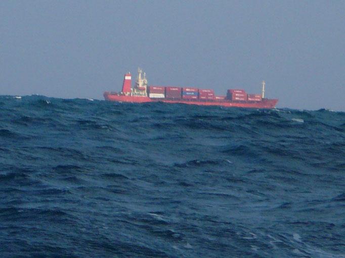 1月6日 波が高くなて帰港へ