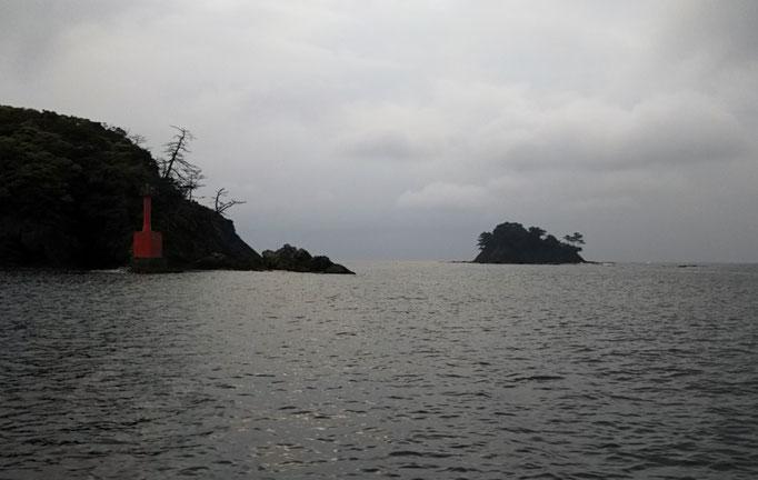 5月10日曇り出船時期雨 南西の風10m~13m