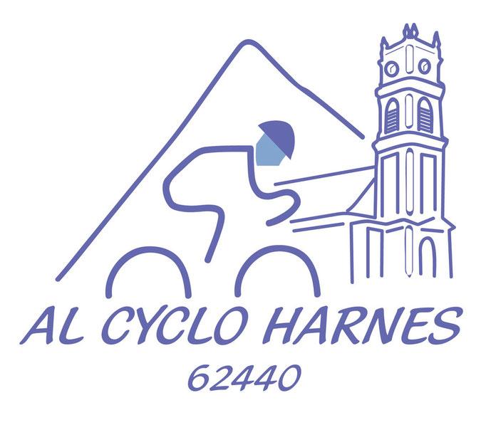 Logo pour une association de cycliste