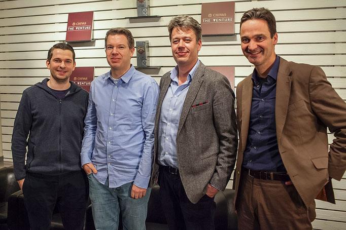 Frank and Christian Reber, Nikolaus Röttger, Dr. Alexander von Frankenberg