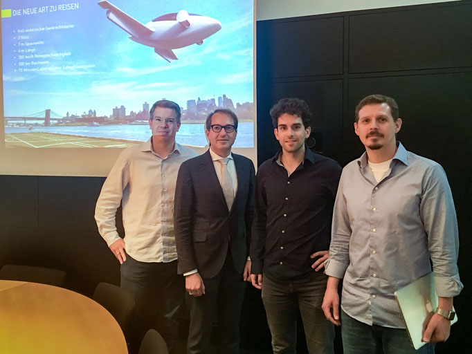 Frank and Alexander Dobrindt, Daniel Wiegand, Marc Sieberger