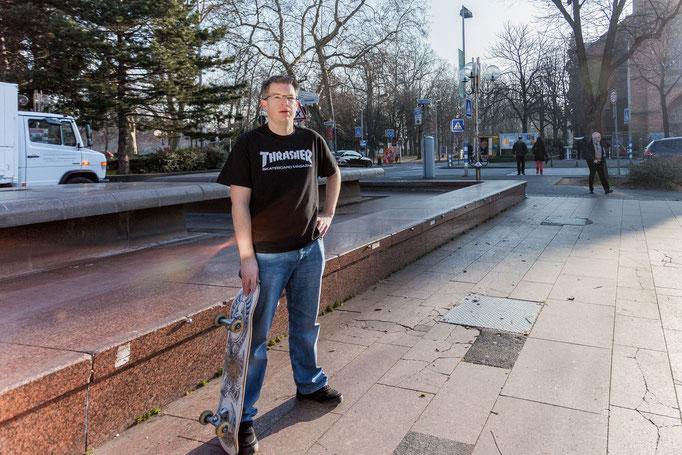 Skateboard in Bonn