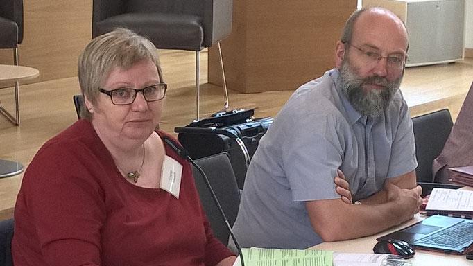 Gisela Tausch und Ulrich Faß-Gerold