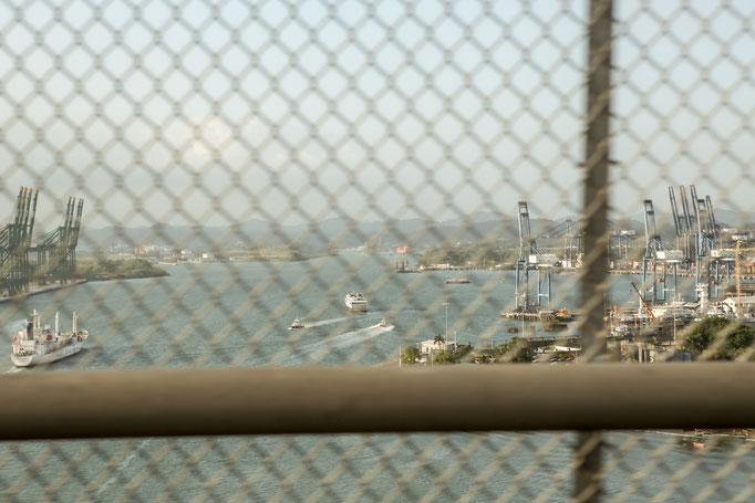 Das einzige Bild vom Panamà Kanal haha.