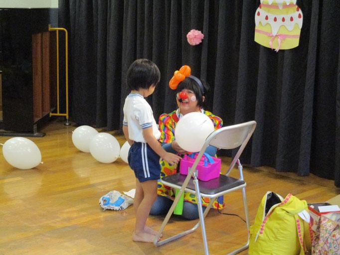 天鏡さん 未来の子供たちに夢と希望を 風船の魔法使いけろみんの希望の一枚