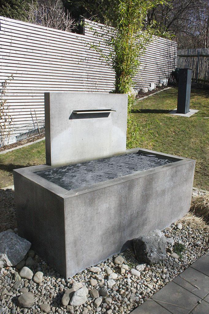brunnen rh beton betonstein und terrazzo werkstatt. Black Bedroom Furniture Sets. Home Design Ideas