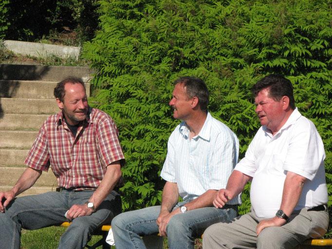 Harald und Günther Arndt, Dieter Pausch