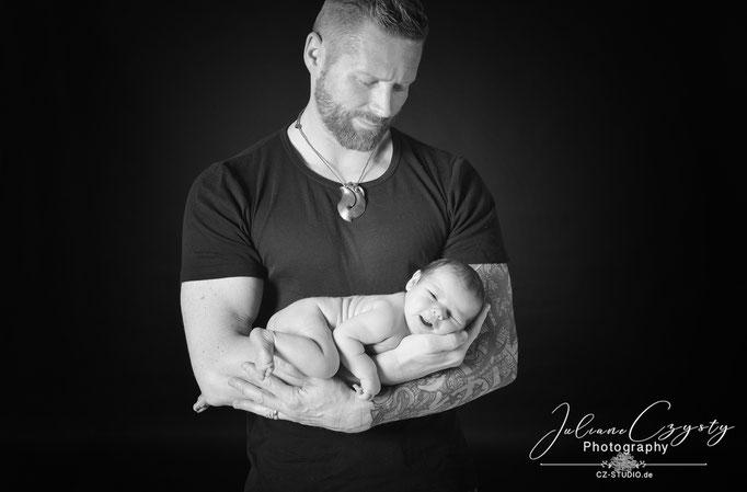 Fotos von frischgebackenen Eltern – Juliane Czysty, Fotostudio für Visselhövede, Rotenburg und umzu