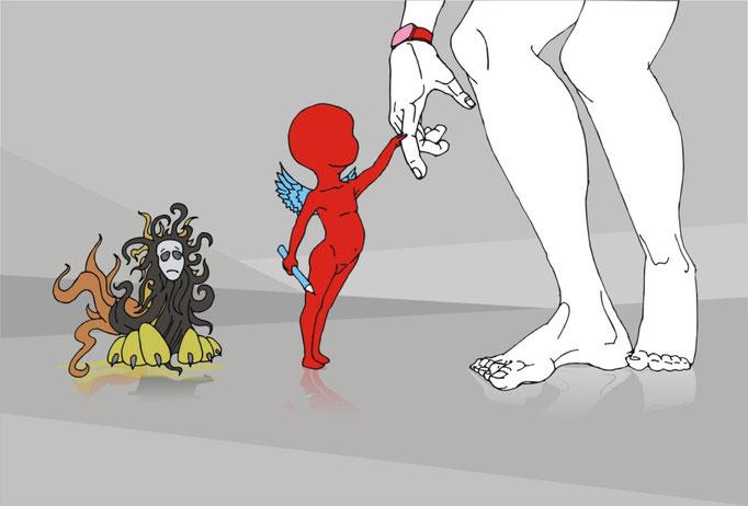 иллюстрация добро и зло