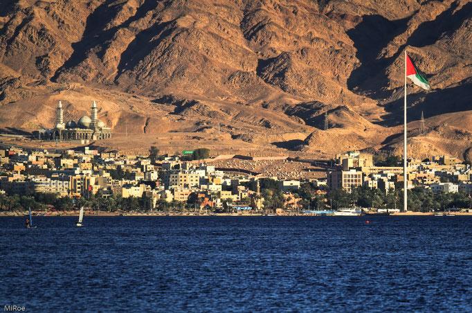 Sicht auf Aqaba