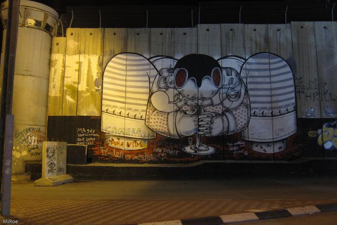 Schutzmauer in Bethlehem