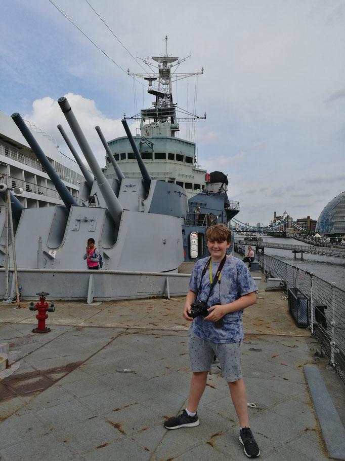 Entdeckung der HMS Belfast