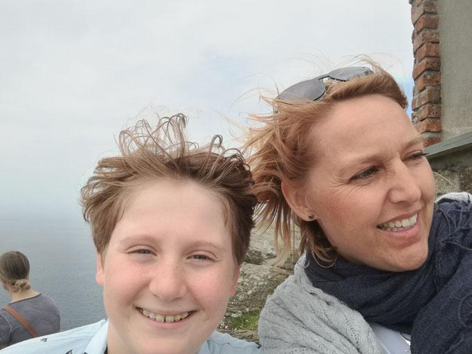 Rauhe Brise am Cape Cornwall