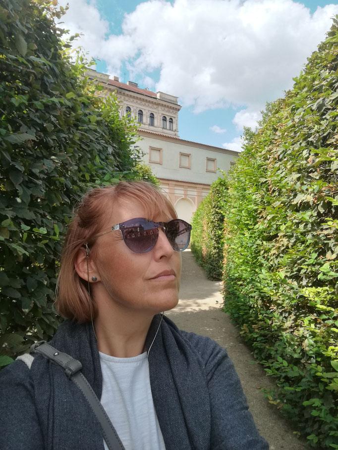 Garten im Palais Waldstein
