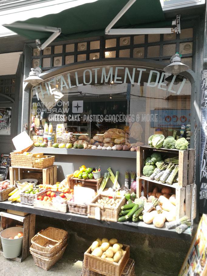 Stimmungsvoller Shop in St.Ives
