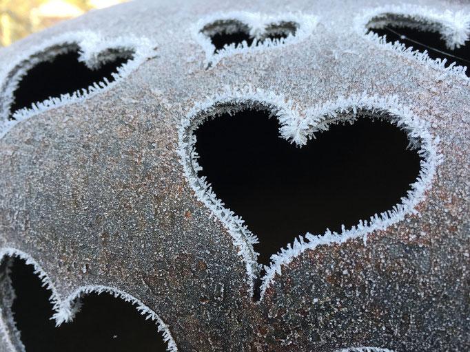 Des cœurs en hiver... © Michel LAURENT (MichL)