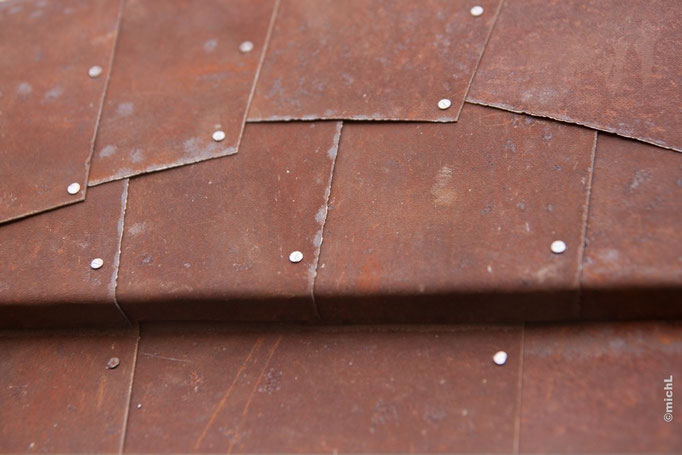 Rusty Beauty / Technique mixte / diamètre 100 cm /   © Michel LAURENT